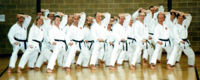 SHOTO North London Karate Classes Age Uke Black Belts