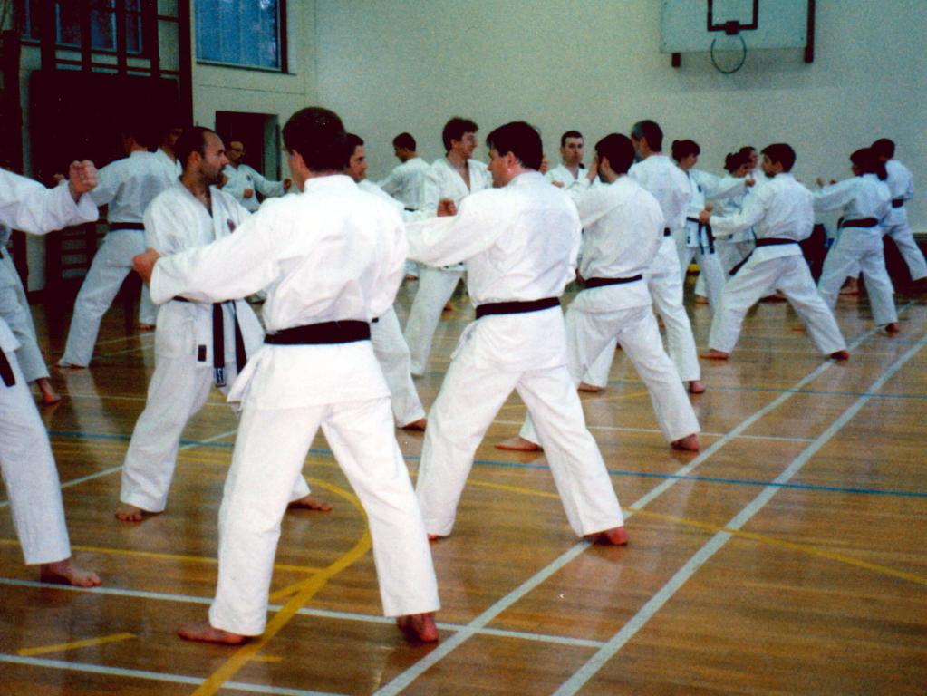 SHOTO Winchmore Hill Karate Classes Kumite Black Belts