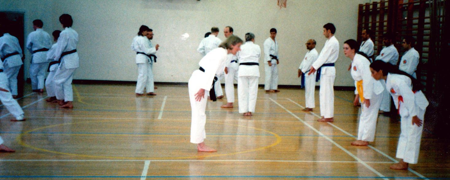 SHOTO Winchmore Hill Karate Classes Kumite Kyu Grades