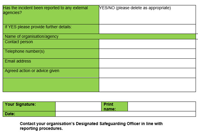 Incident Reporting Form 03