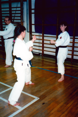 Kumite At Winchmore Dojo 01