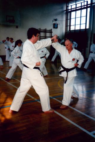 Kumite At Winchmore Dojo 03