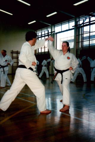 Kumite At Winchmore Dojo 04